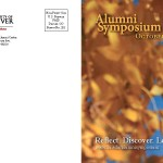 Alumni Symposium Weekend Postcard