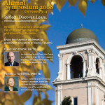 Alumni Symposium Weekend Full Page Ad